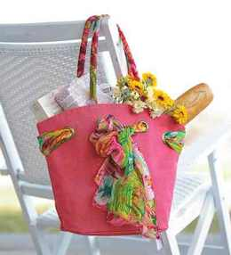 mothers day tote and scarf